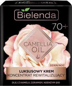 Bielenda Camellia Oil 70+ Luksusowy Krem - koncentrat rewitalizujący na dzień i noc  50ml