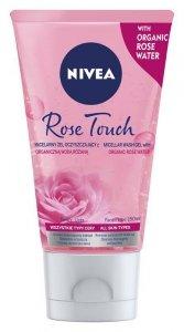 Nivea Micell Air Skin Breathe Micelarny Żel oczyszczający z Wodą Różaną  150ml