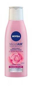 Nivea Micell Air Skin Breathe Micelarne Mleczko i Tonik z Wodą Różaną  200ml