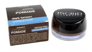 Ingrid Eyebrow Pomade Pomada do stylizacji brwi nr 202 Dark Brown  5g