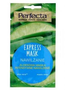 Perfecta Express Mask Aloesowa Maska intensywne nawilżanie  8ml