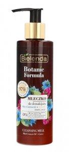 Bielenda Botanic Formula Olej z Czarnuszki+Czystek Mleczko do demakijażu przeciwzmarszczkowe  200ml