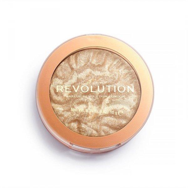 Makeup Revolution Rozświetlacz do twarzy Reloaded Raise the Bar