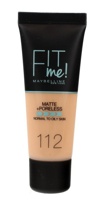 Maybelline Fit Me! Podkład matujący nr 112 Soft Beige  30ml