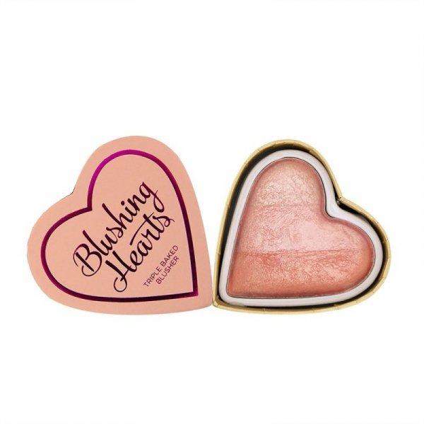 I Heart Makeup Blushing Hearts Róż Peachy Pink Kisses,  10g