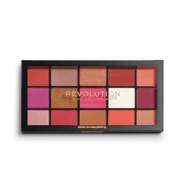 Makeup Revolution Paleta cieni do powiek Reloaded Red Alert 1szt