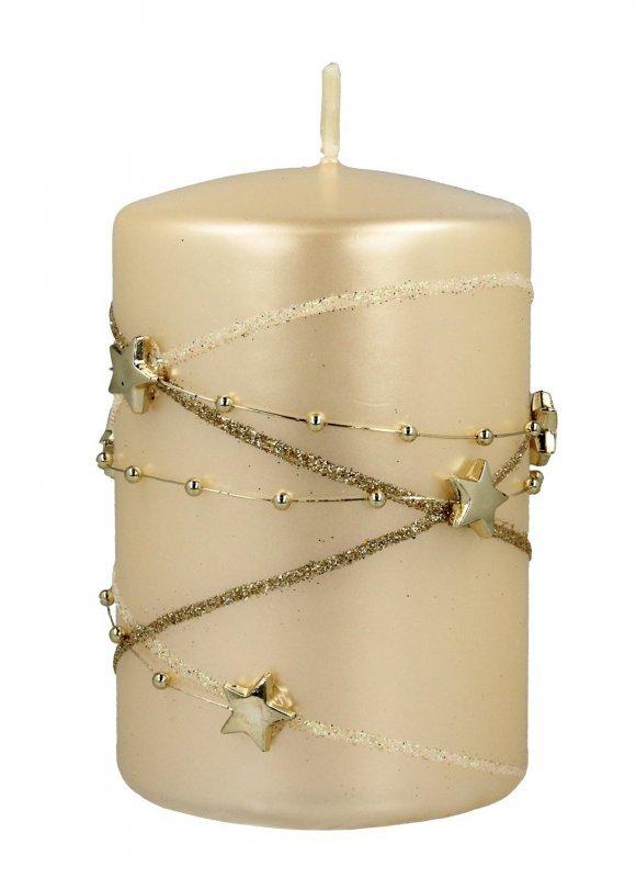 ARTMAN Boże Narodzenie Świeca ozdobna Girlanda - walec mały 1szt