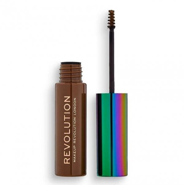 Makeup Revolution Żel do brwi H Brow Gel with Cannabis Sativa A Brown