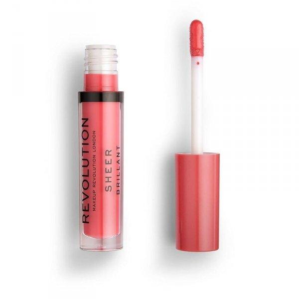 Makeup Revolution Excess 138 Pomadka do ust w płynie Sheer Brillant  1szt