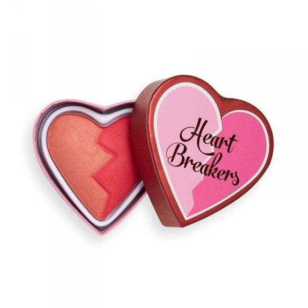 I Heart Revolution Heartbreakers Matte Blush Róż matowy do twarzy Charming 10g