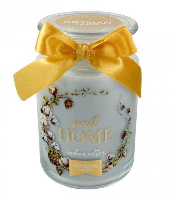 ARTMAN Świeca zapachowa Sweet Home słoik duży 1szt-700g
