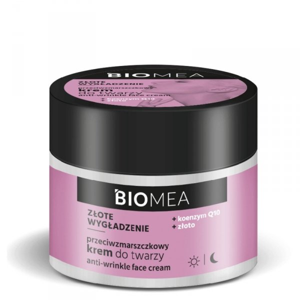 Farmona Biomea Przeciwzmarszczkowy Krem do twarzy na dzień i noc - Złote Wygładzenie 50ml