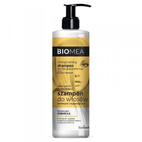 Farmona Biomea Intensywnie Wzmacniający Szampon do włosów łamliwych i wypadających  400ml