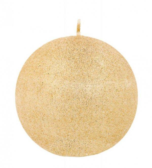 ARTMAN Świeca ozdobna Glamour rose gold - kula duża 1szt