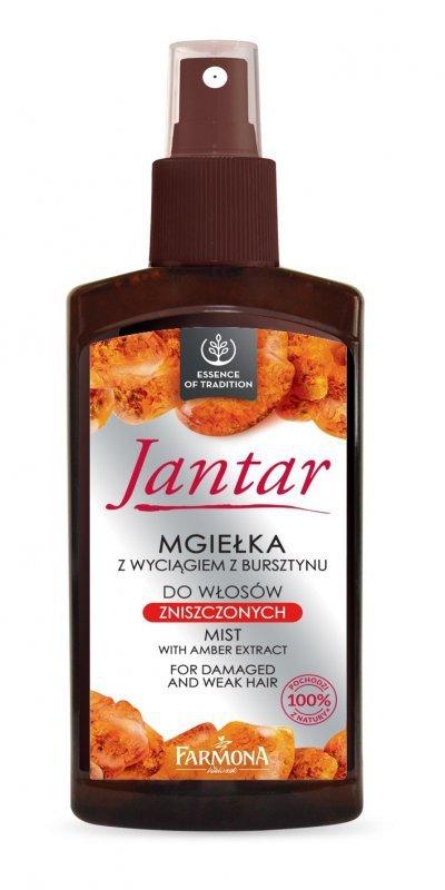 Farmona Jantar Mgiełka do włosów nawilżająco ochronna z wyciągiem bursztynu i filtrami UV 200ml