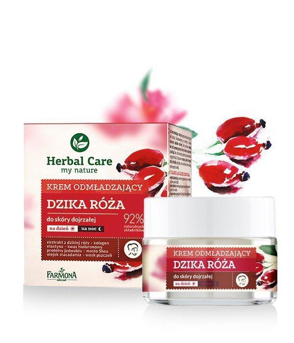 Farmona Herbal Care Krem odmładzający z różą na dzień i noc  50ml