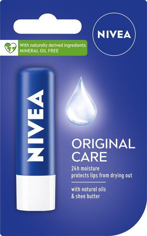 Nivea Lip Care Pomadka ochronna ORIGINAL  4.8g
