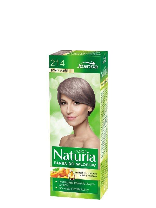 Joanna Naturia Color Farba do włosów nr 214-gołębi popiel  150g