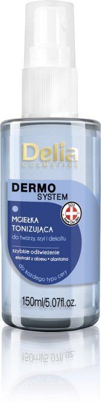 Delia Cosmetics Dermo System Mgiełka tonizująca do twarzy,szyi i dekoltu  150ml