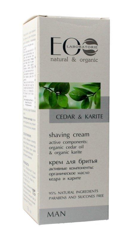 EOLaboratorie Man Krem do golenia Cedar & Karite  150ml