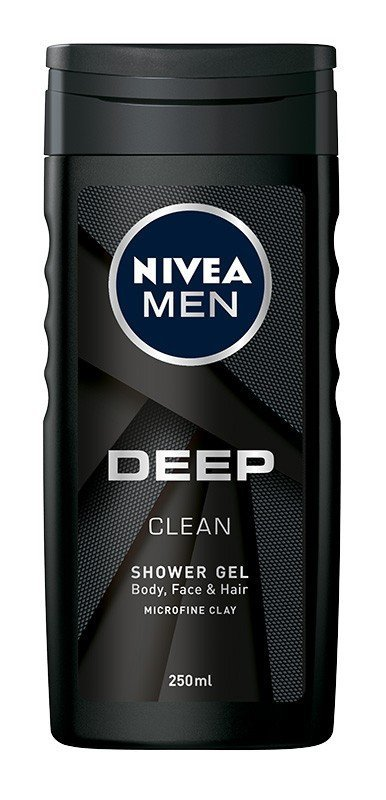 Nivea Men Żel pod prysznic Deep Clean  250ml