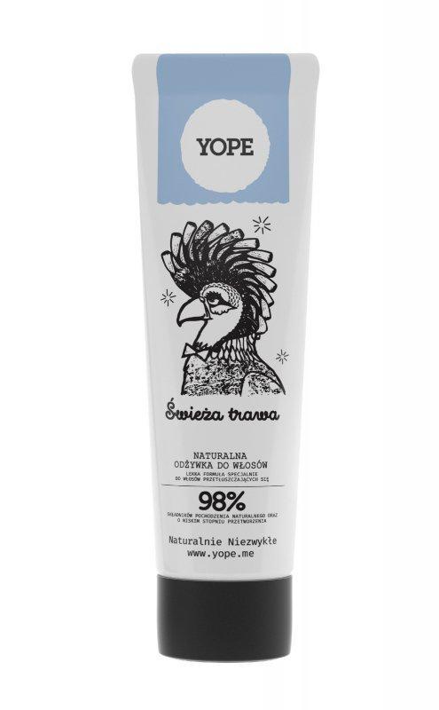 YOPE Odżywka do włosów Świeża Trawa 170ml