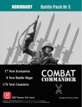 Combat Commander Battle Pack #3: Normandy Reprint