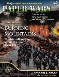 Paper Wars #89 Burning Mountains 1916