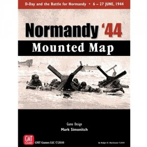 Normandy '44 Mounted Map