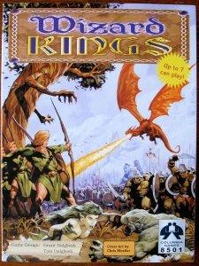(USZKODZONA) Wizard Kings 2nd Ed. (Base Game)