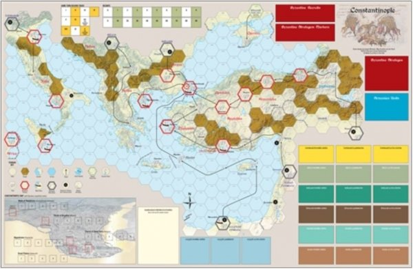 Strategy & Tactics #318 Constantinople