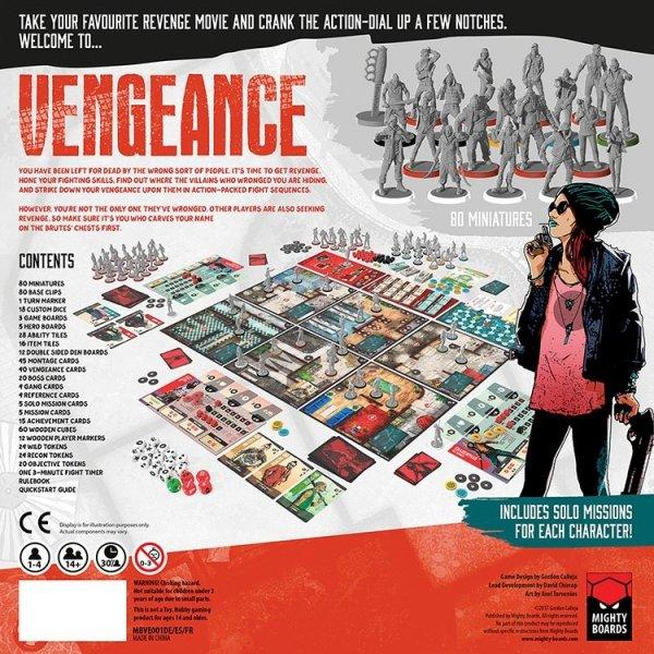 Vengeance: Core Game