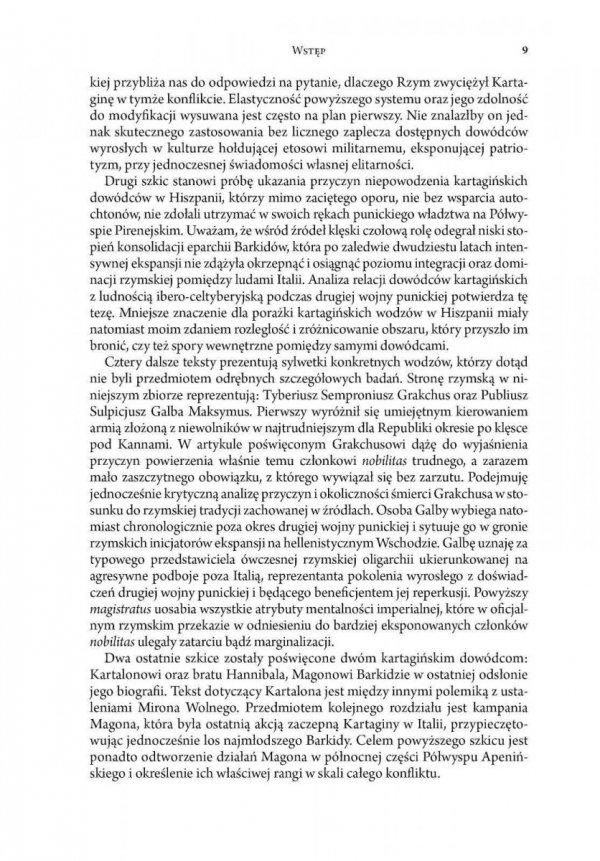 Studia nad dowódcami i sztuką dowodzenia w drugiej wojnie punickiej (218-201 przed Chr.)