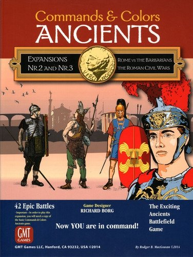 Commands & Colors: Ancients Combo Pack Exp.2+3 2nd Printing