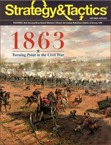 Strategy & Tactics #297 1863: Turning Point in the Civil War