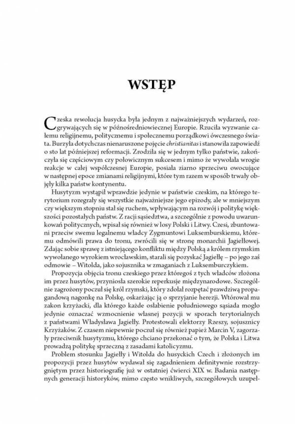 Polska i Litwa wobec husyckich Czech w latach 1420-1433