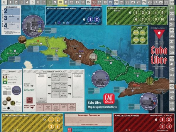 Cuba Libre 2nd printing