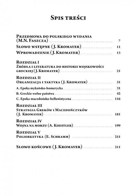 Historia wojskowości Greków i Rzymian. Część I Grecy