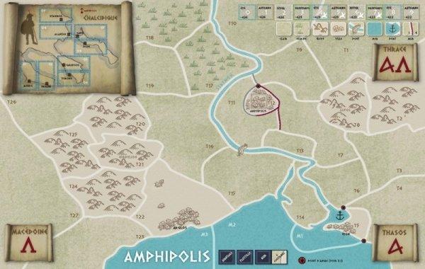 VaeVictis no. 119 Amphipolis - Athenes vs Sparte 424-422
