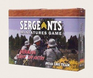 SMG: German Light Infantry MG42 Team