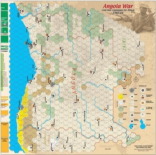 Strategy & Tactics #290 Angola