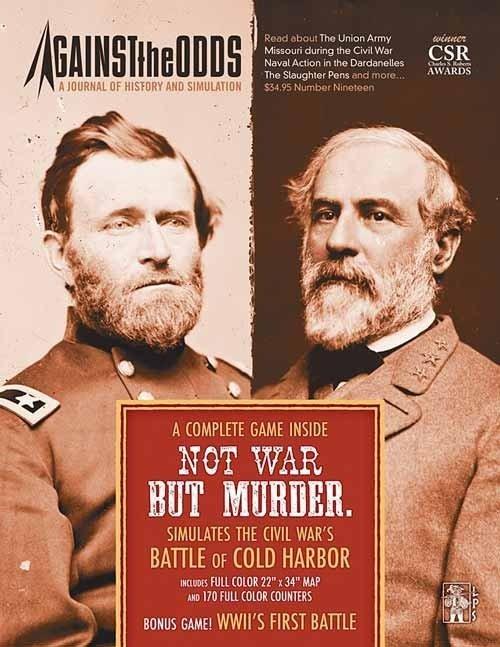 Against the Odds #19 - Not War But Murder