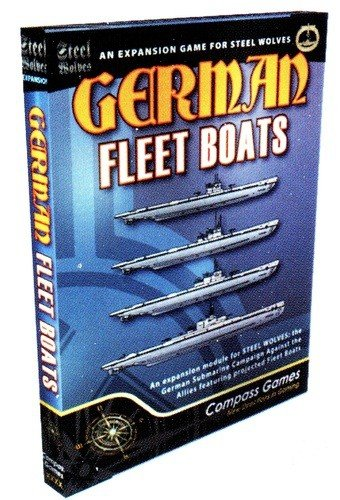 German Fleet Boats: Steel Wolves Expansion #1