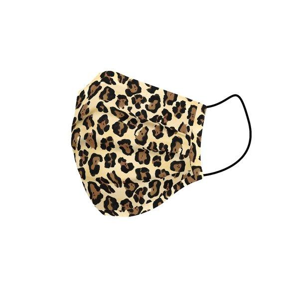 Maska higieniczna materiałowa wielokrotnego użytku Dorosły Lampart