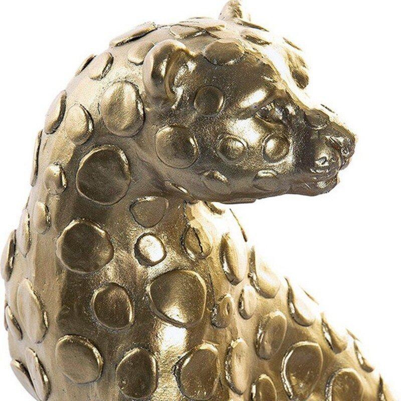 Rzeźba DKD Home Decor Lampart Żywica (2 pcs) (20 x 12 x 31 cm)