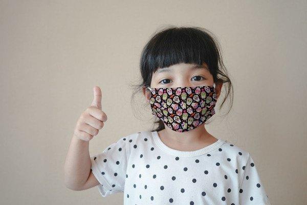Maska higieniczna materiałowa wielokrotnego użytku Skulls Cool Dziecięcy