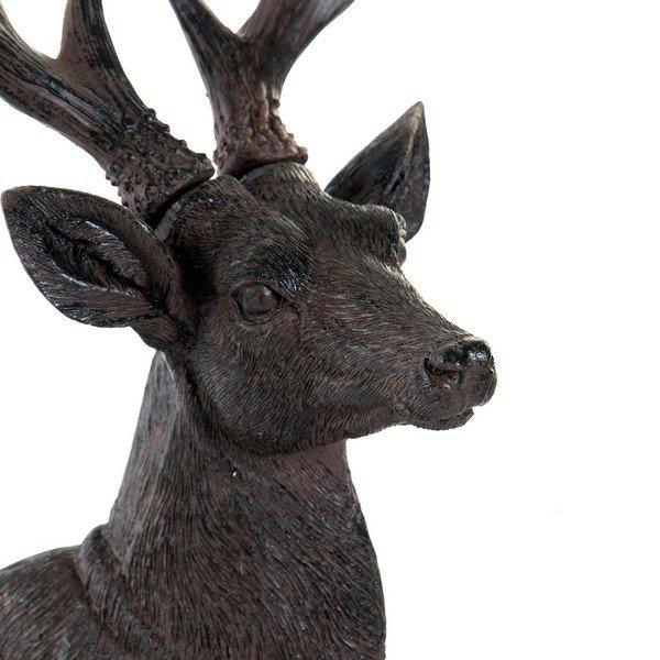 Figurka Dekoracyjna DKD Home Decor Żywica Jeleń (18 x 15 x 27 cm)