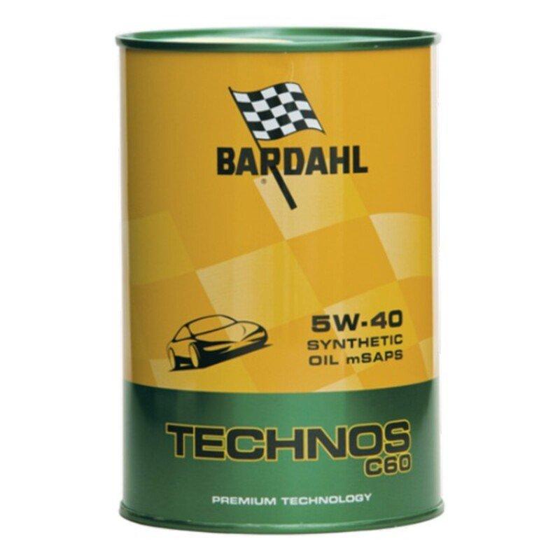 Olej Silnikowy Samochodowy Bardahl TECHNOS C60 Exceed SAE 5W 40 (1L)