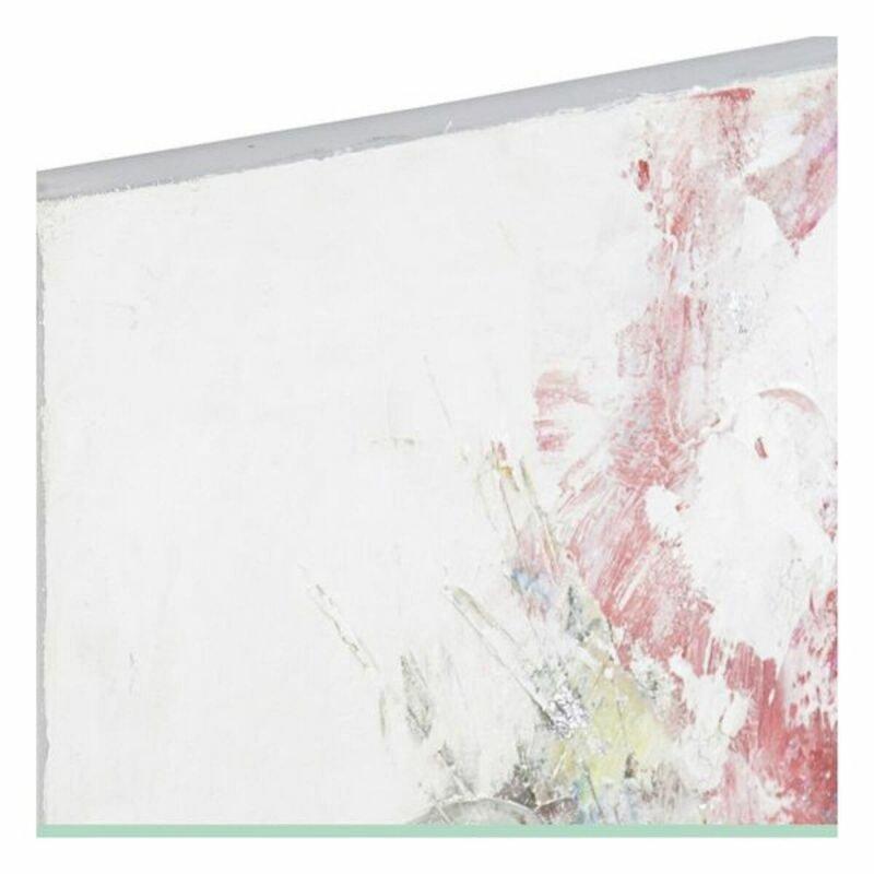 Obraz DKD Home Decor Ręcznie malowany Kvety (90 x 3 x 120 cm)