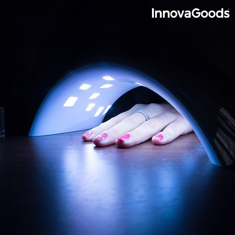 Profesjonalna Lampa LED UV do Paznokci InnovaGoods